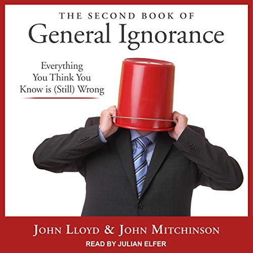 The Second Book of General Ignorance audiobook cover art