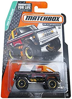 Matchbox MBX Explorers Ford Bronco 4X4 - 1972 Black #113/120 by Matchbox