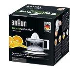 Braun Tribute Collection CJ 3000 Zitruspresse (20 W, 0,35 l) weiß