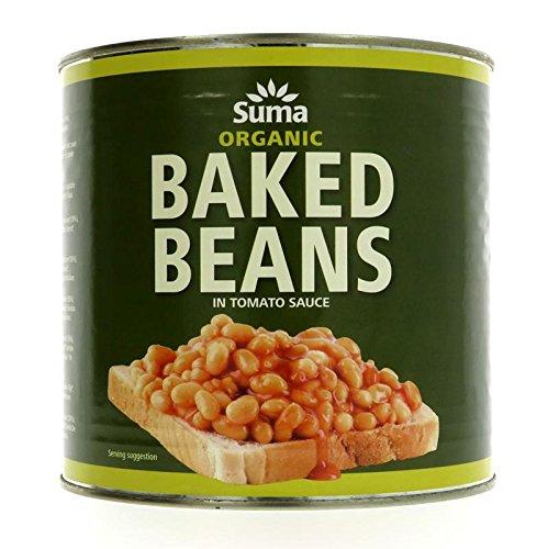 Suma Organic Baked Beans 2.65kg (confezione da 6)