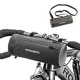 ROCKBROS Borsa Manubrio Impermeabile Bici MTB Monopattino Borsa Manubrio Anteriore Bicicletta...