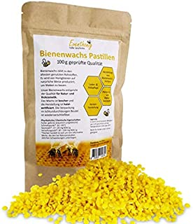 100/% Reine Bienenwachs Pastillen 500g Vosk gelb zur Herstellung von Kerzen und Kosmetikprodukten