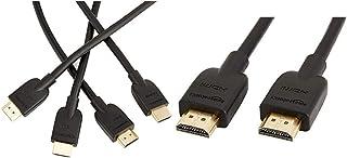 Amazonベーシック ハイスピード HDMIケーブル - 3.0m 2本セット(タイプAオス - タイプAオス) &  ハイスピード HDMIケーブル - 1.8m (タイプAオス - タイプAオス)