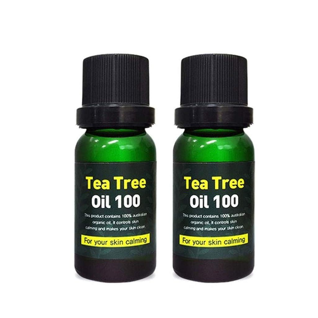 親指宙返り無一文スキンアイシークレットプラントティーツリーオイル100 10mlx2本セット 韓国コスメ、Skineye Secret Plant Tea Tree Oil 100 10ml x 2ea Set Korean Cosmetics [並行輸入品]