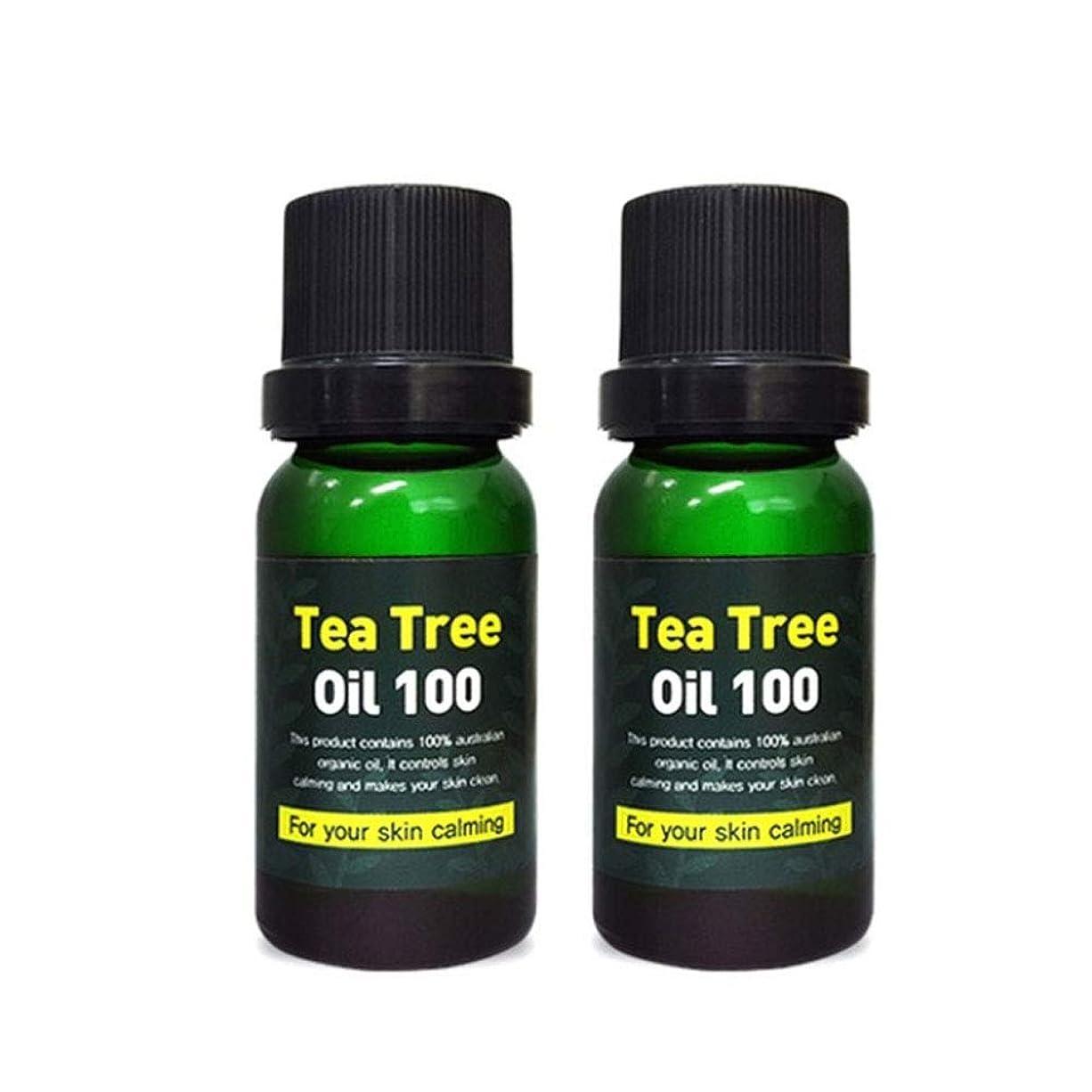 学校の先生小石違反スキンアイシークレットプラントティーツリーオイル100 10mlx2本セット 韓国コスメ、Skineye Secret Plant Tea Tree Oil 100 10ml x 2ea Set Korean Cosmetics [並行輸入品]