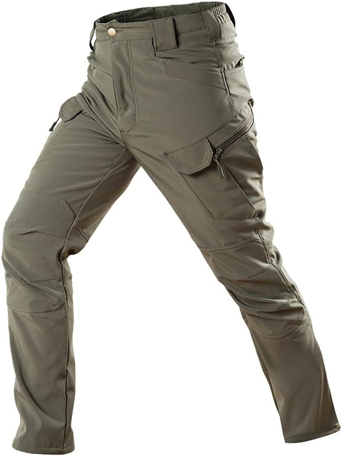 ATAIRSOFT Men's BDU Combat Waterproof Trousers for Hiking Airsoft OD
