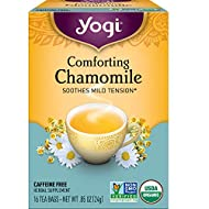 Yogi Tea - Comforting Chamomile - 4 Pack, 64 Tea Bags