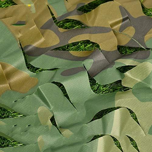 Red de Camuflaje Militar para Caza al Aire Libre 6X8m De Del Bosque, De Sombrilla Nerf War Party Decoration, Persianas De Militares Para Acampar, Cubierta De De Para Camión, Duradera Sin Desgaste Red