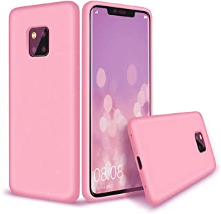 Matte flexible plastic, Mobile protection, cover for Huawei Mate 20 Pro (Pink)