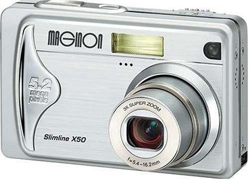 Maginon Slimline X50 Digitalkamera (5 Megapixel)