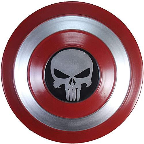 Legends Series Avengers Capitn Amrica Shield Full Metal, versin de pelcula 1: 1 Accesorios de disfraces Juego de roles Accesorios de disfraces de superhroe 47CM C