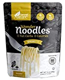 ENJOY A HEAVENLY PASTA MEAL GUILT FREE –Your eyes aren't tricking you, you've read right! I Indulge in Wonder Noodles no carb pasta without remorse. These keto noodles Spaghetti contain Water, Yam Flour, Lime, Oat Flour and is just the right food fo...