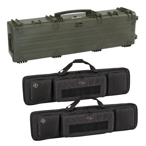explorer gun cases Explorer Cases 13527 Gun Case with Two Padded Gun Bags