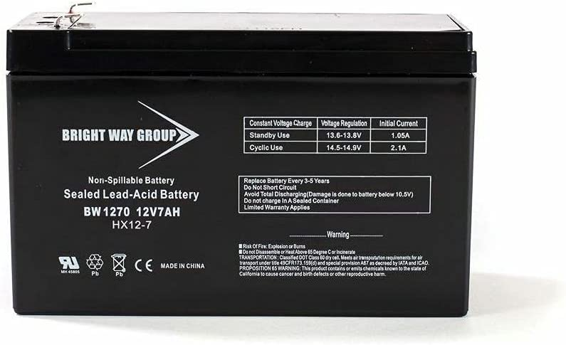 Brightway Replacement Battery Dealing full price reduction for Belkin 12V 7AH Shipping included F6C127-BAT-ATT