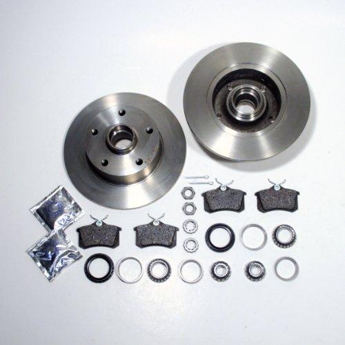 Bremsscheiben Ø 245 mm/Bremsen + Bremsbeläge + Radlager hinten