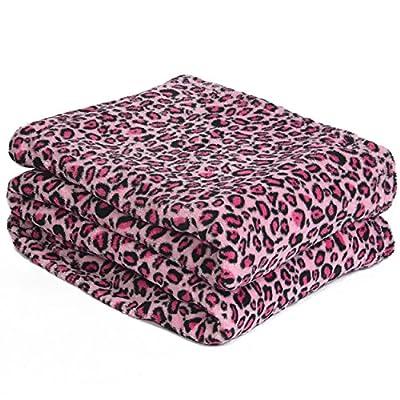 Effortless Bedding Oversized Plush Semi-Fitted Bed Blanket