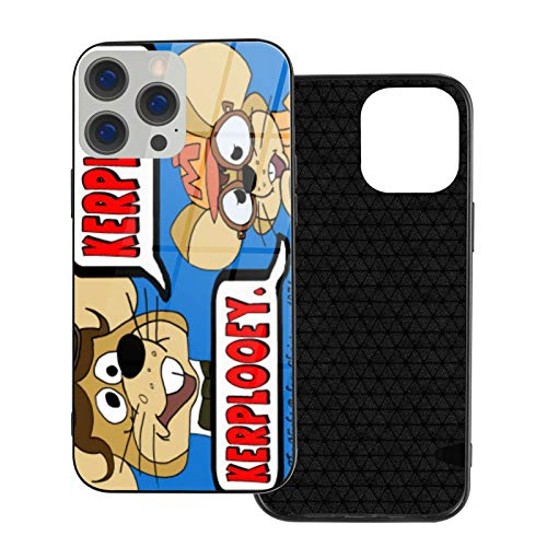 Can be Installed i-Phone 12 Tempered Glass Phone case / 12 Pro / 12 Mini/max Shockproof Soft case Father Mouse Christmas