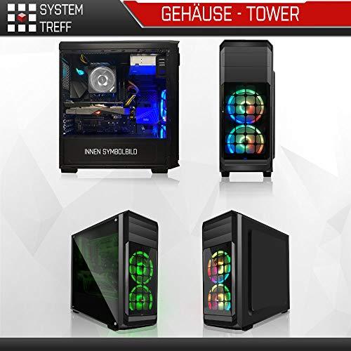 AMD Ryzen 5 PRO 3350G 4x3.6GHz PC| 16GB DDR4 |256GB M2 SSD und 1TB Festplatte | Win10 | WLAN | Gamer pc Computer Rechner Leise