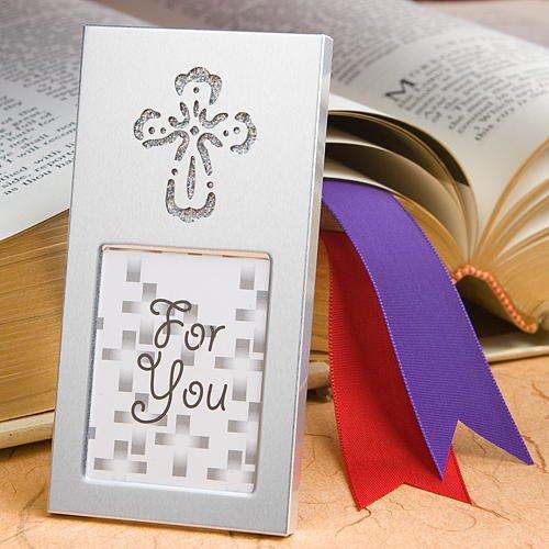 Wedding Favor Picture Frames: Shining Cross, 40