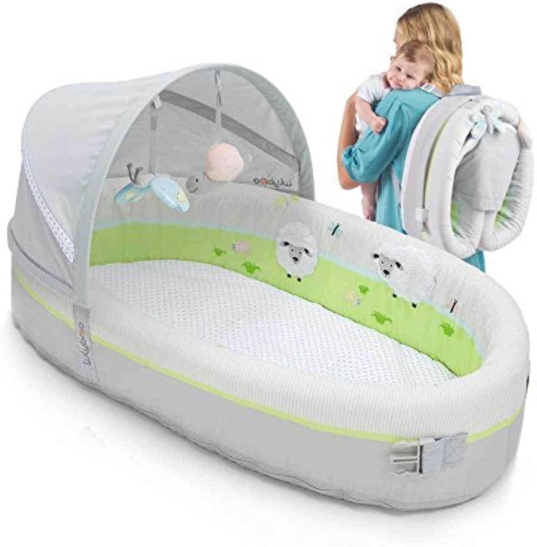 LulyBoo Baby Lounge zu gehen, faltbar Baby-Bassinet   Reisebett   Kinderbett (PREMIUM)