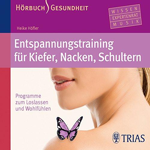 Entspannungstraining für Kiefer, Nacken, Schultern audiobook cover art