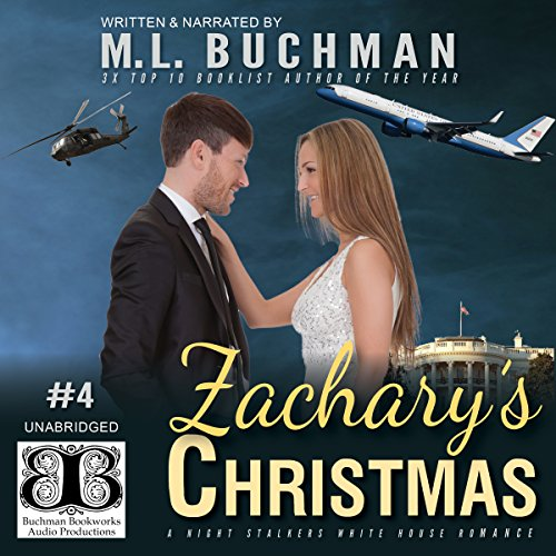 Zachary's Christmas audiobook cover art