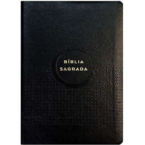 Bíblia Sagrada Econômica | NVI | Capa Pu | Slim / Ultrafina | Preta