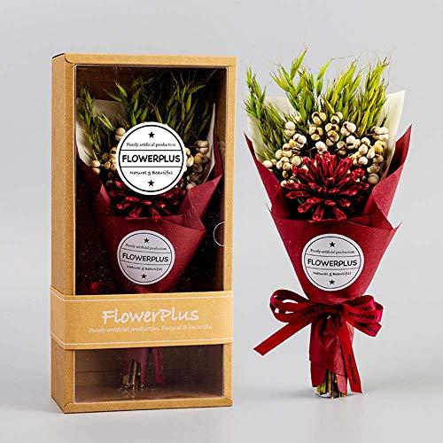 Bruiloft Boeket Bruidsbloem, Rode Zeep Rose Bloem Mooie Handgemaakte Rose Bloem Decoratie en Gift A