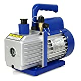ZENY 3,5CFM Single-Stage 5 Pa Rotary Vane Economy Vacuum Pump 3 CFM 1/4HP...