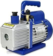 ZENY 3,5CFM Single-Stage 5 Pa Rotary Vane Economy Vacuum Pump 3 CFM 1/4HP Air Conditioner Refrigerant HVAC Air Tool R410a 1/4