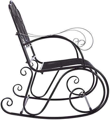 Silla Mecedora Simple Y Casual, Silla De Mecedora Ergonómica De Espalda, Silla De Mecedora Exterior Silla De Balcón De Balcón para Descansar Durante Una Siesta