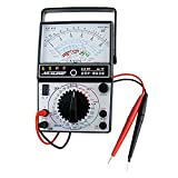 0.25V-1000V AC Ohm Amp DC Volt analógica Multitester multímetro