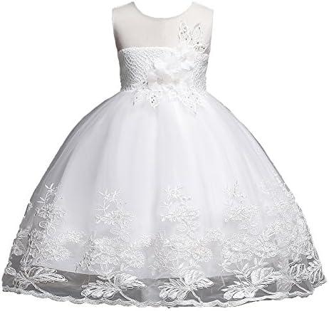 Big Girl Bridesmaid Birthday Dress Size 7 16 Sleeveless Knee Length Wedding Party Dress Size product image