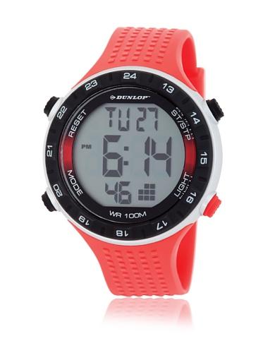 Dunlop Reloj Digital para Hombre de Automático con Correa en Caucho DUN-200-G07
