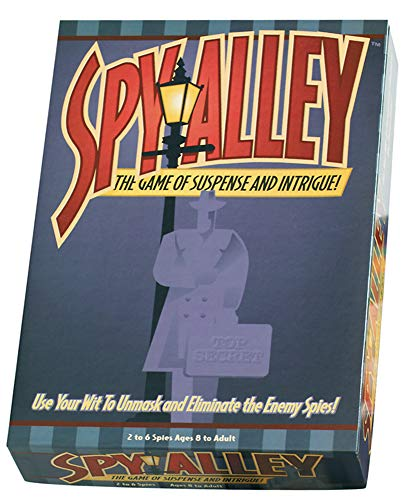 Image of the Spy Alley Mensa Award Winning Family Strategy Board Game
