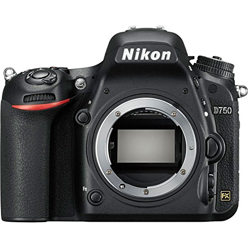 Nikon D750 Digital SLR Camera Body (Renewed)