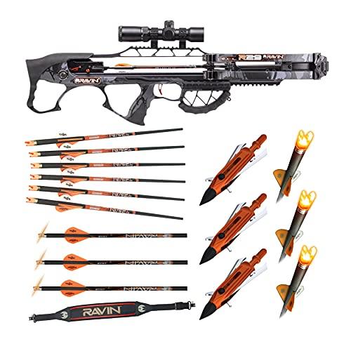 Ravin Crossbows R29 430 FPS Crossbow (Predator Camo) Basic Bundle (5 Items)