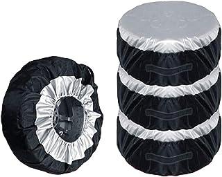 VOSAREA 4 Stück Staubschutz für Autoreifen, 65 cm