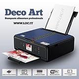 Imprimante alimentaire Deco Art- Couleur : noir - Scanner- A4-Plateau arrière-Fournie avec 5cartouches