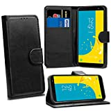 Samsung Galaxy J6 2018 J600F Cases - Black Premium Wallet