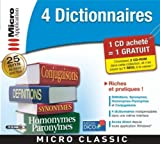 4 Dictionnaires [Import] -