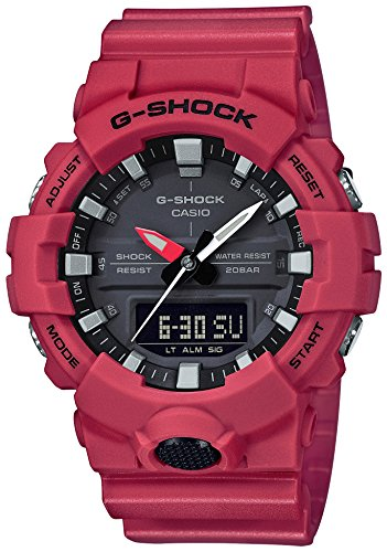 [カシオ] 腕時計 ジーショック G-SHOCK GA-800-4AJF メンズ レッド