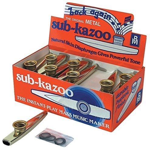 Kazoo sub-kazoo aus Metall