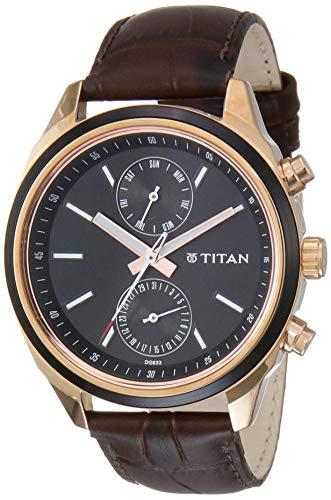 Titan Neo Analog Blue Dial Men's Watch - NM1733KL03 / NL1733KL03