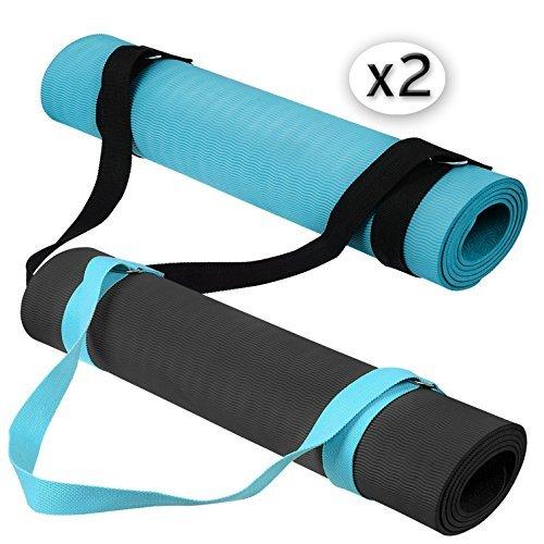 The Friendly Swede Cintura per lo Yoga da 183 cm (2 Pezzi)