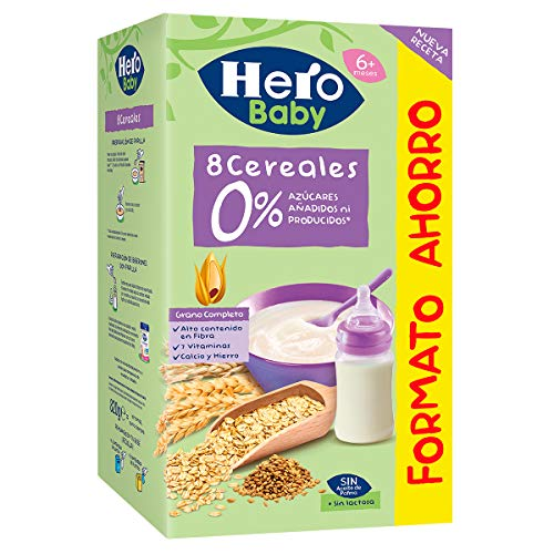 Hero Baby Natur Papilla Multicereales, 820g