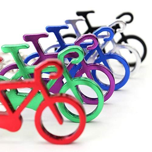 Botella EDC Aire Libre Multi de la Bicicleta Llavero Llavero del Vino de Cerveza abridor Herramienta Muilti Colores