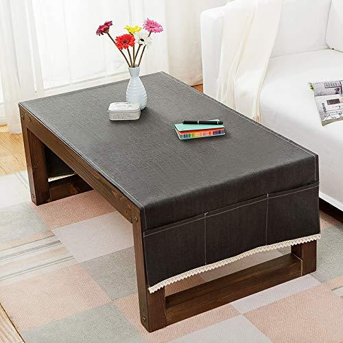 LYDCX Mantel Nórdico De Mesa De Café Moderno Minimalista Rectangular Sala De Estar Mueble De TV Tela De Color Sólido Mantel