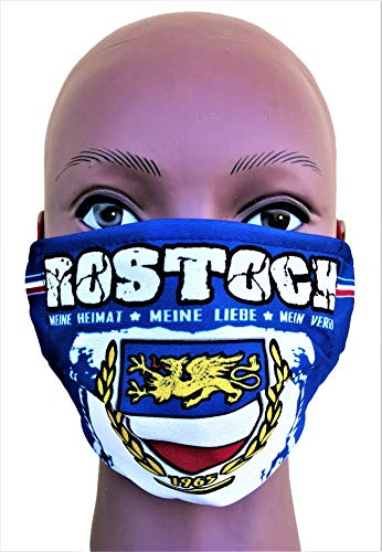 Rostock Maske 2.0, Rostock Vermummungsmaske, Rostock Fußballmaske, Rostock Fan-Maske, Rostock Fußballmaske, Rostock Community Maske, Rostock Alltagsmaske