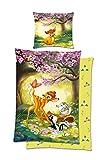 Disney Original Bambi Bettwäsche 135x200 mit Kissenbezug 80x80